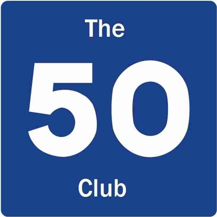 50 CLUB - SEPTEMBER DRAW