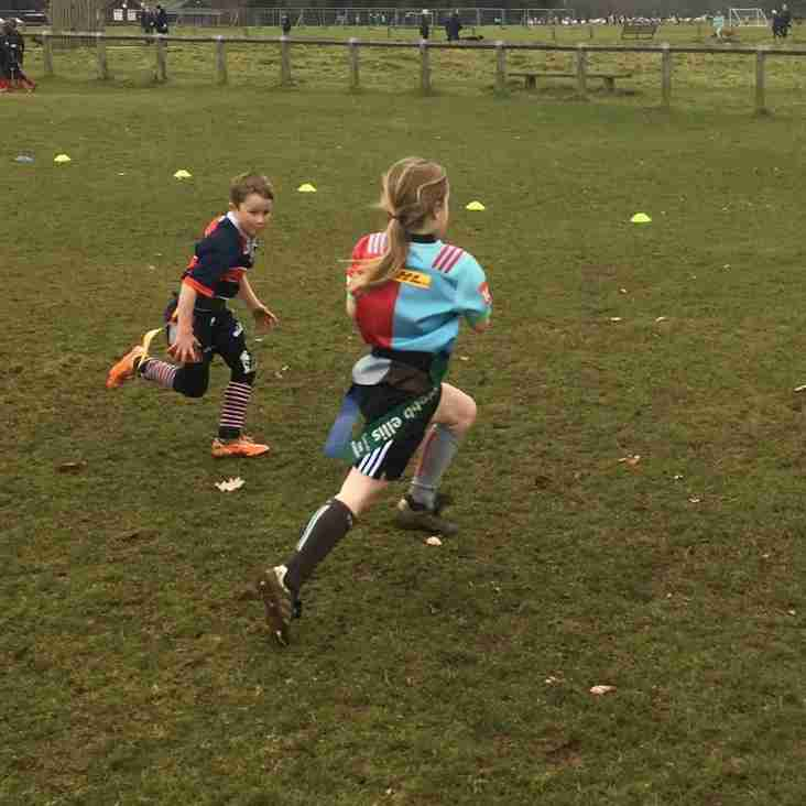 A mother's story of girls mini rugby
