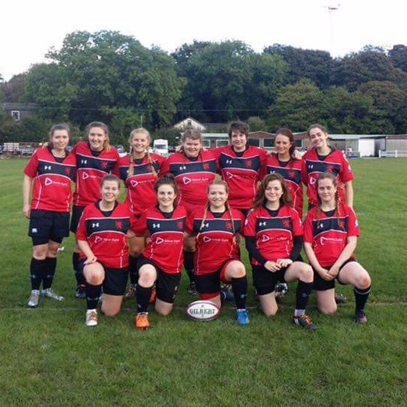 Ladies 1st XV beat Liverpool Collegiate F.C 87 - 0