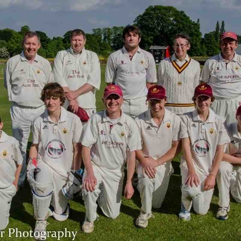 3rdXI v Sowerby St Peters Halifax Sunday Cup Semi-Final 9-6-13