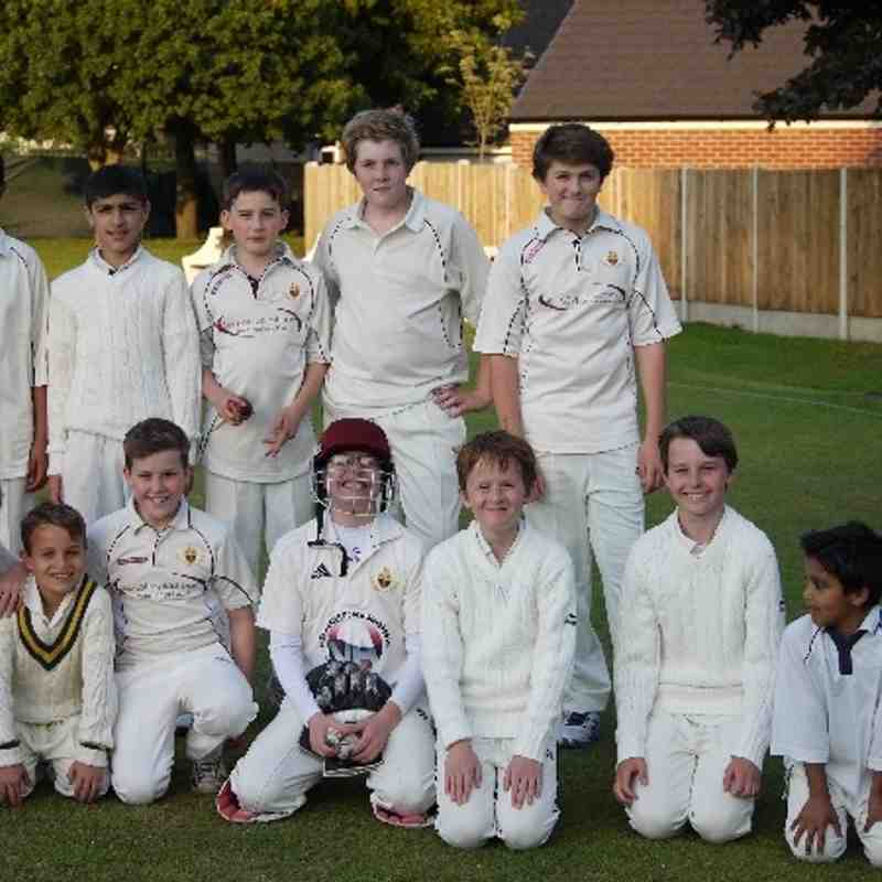 LCC Under13B v Pudsey Congs 4-7-13