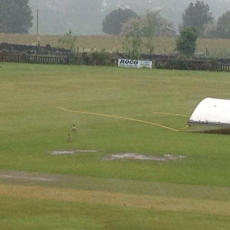 1st XI lose to Townville in Rain affected match