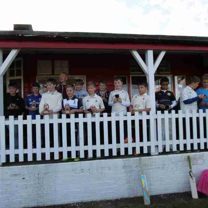 Junior Section - End of Season, Prize Winners
