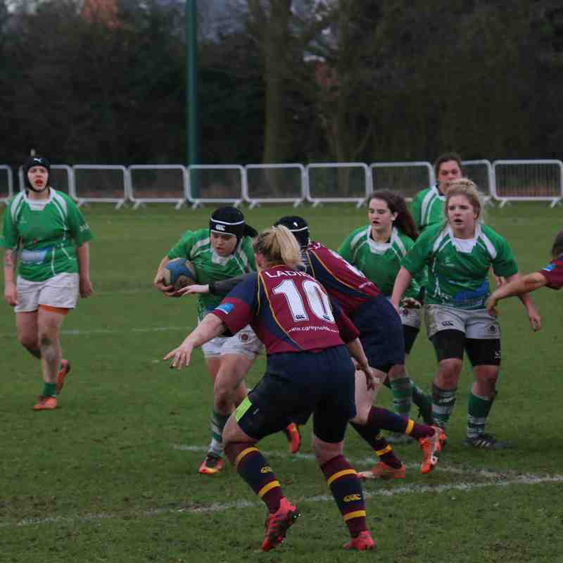 Bournville Ladies vs Sutton