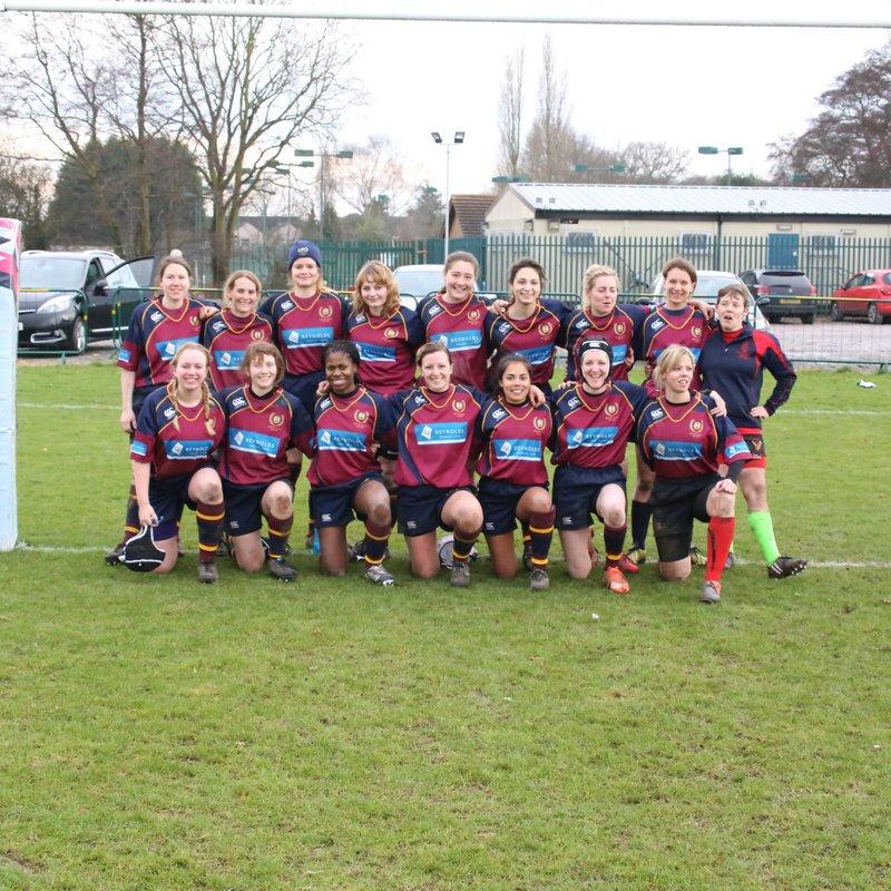 Ladies beat Warley 12 - 29