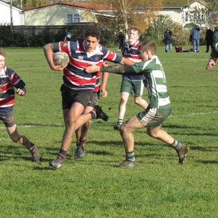 U16 narrowly lose a tight match