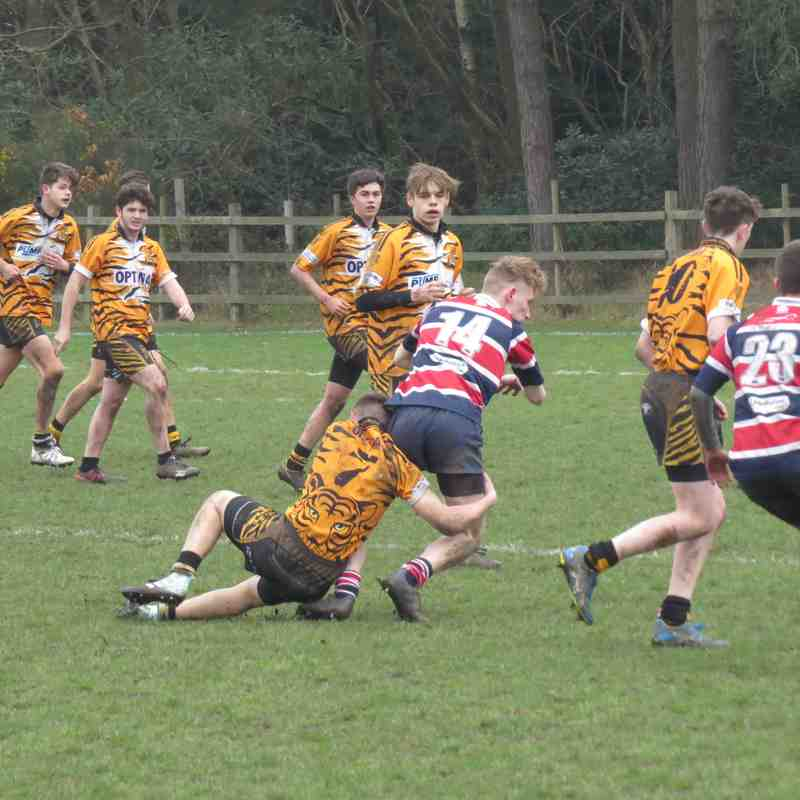 U16 v Tadley Tigers 25 Mar 2018