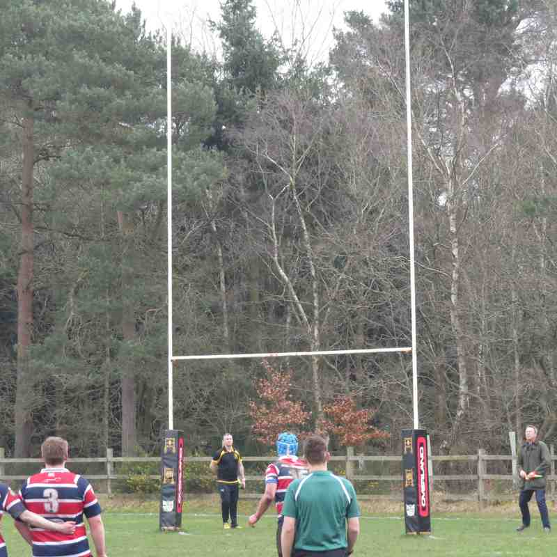 Lining up the final kick of the match