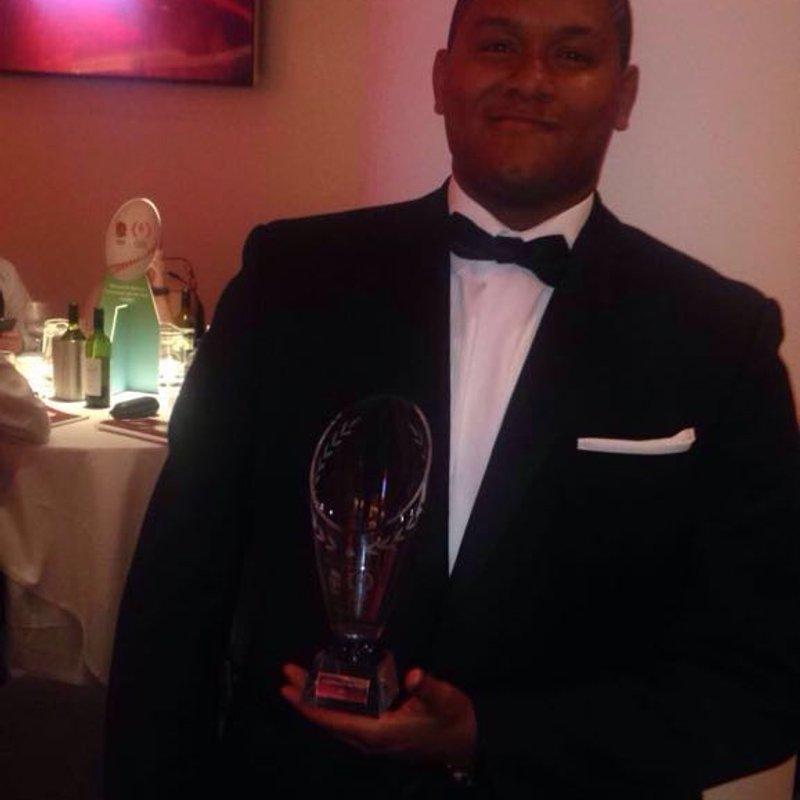 Winner of National Volunteer of the Year