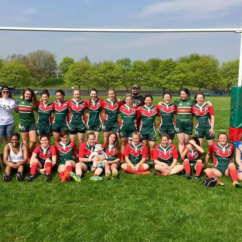 Haringey Rhinos Ladies vs. Kilburn Cosmos Ladies (21/04/2018)