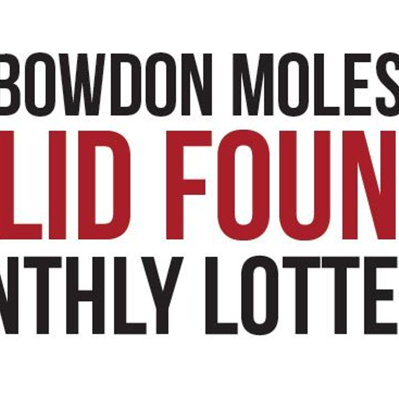 Bowdon Moles Club - Solid Foundations Lottery