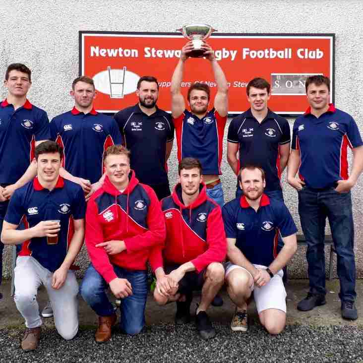 Newton Stewart SERIOUSLY Strong 7's