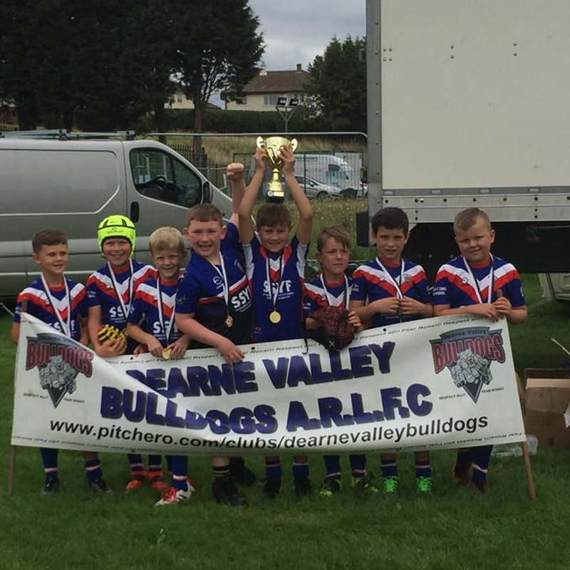 Sharlston Rovers Juniors U8's Champions