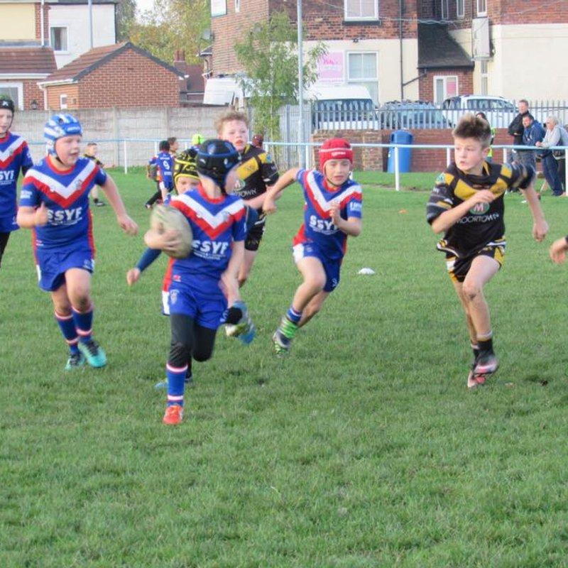 15-10-17 Under 8's v Elland