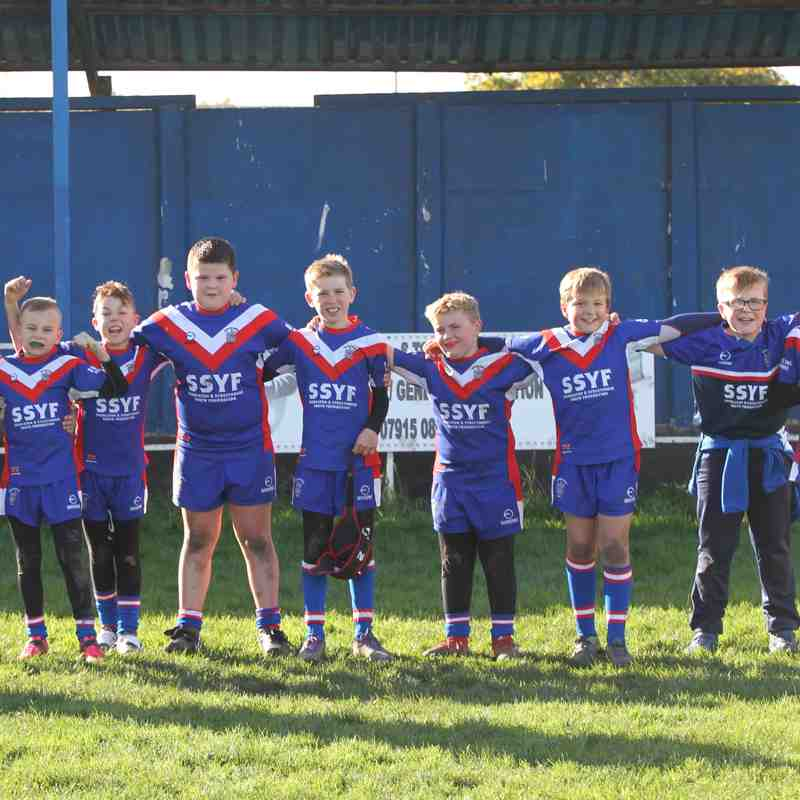 29-10-17 Under 9's v Bradford Dudley Hill