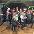 28-11-17 U8s christmas party @ lazerzone