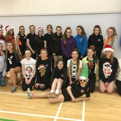 Christmas Fun at Training 2016