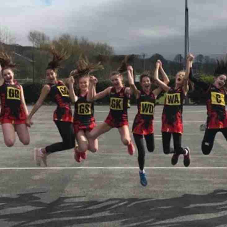 Bucks Phoenix Have GREAT Success at High Wycombe District Junior Netball League - Winter 2018