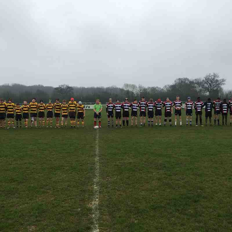 U17s Barry Dickens Tribute