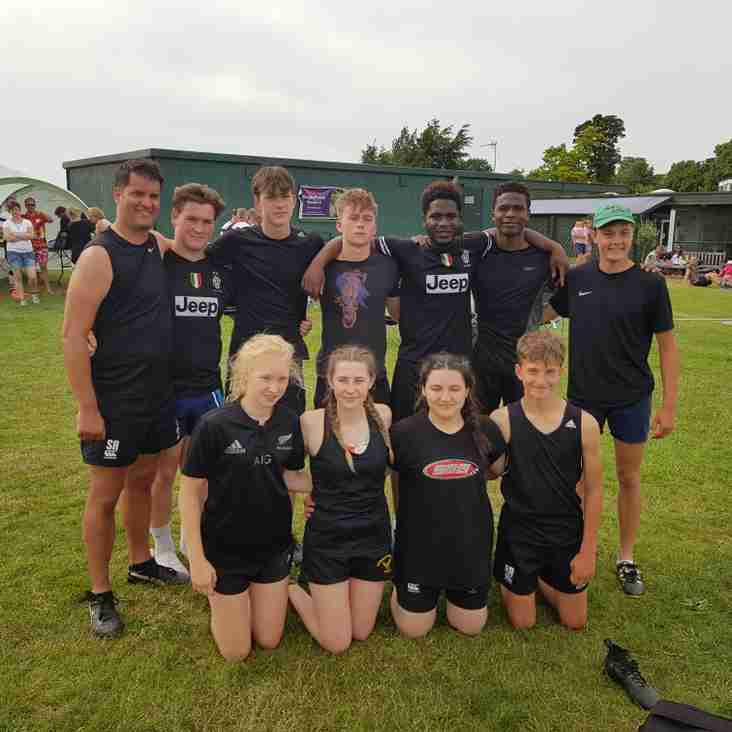U17s at Royston Touch competition