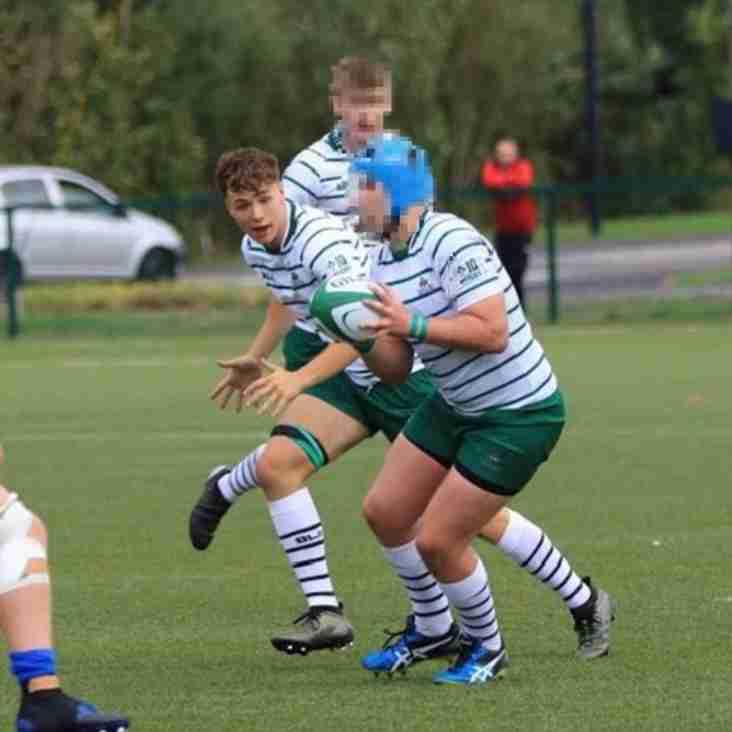 U18 crow plays for Irish Exiles