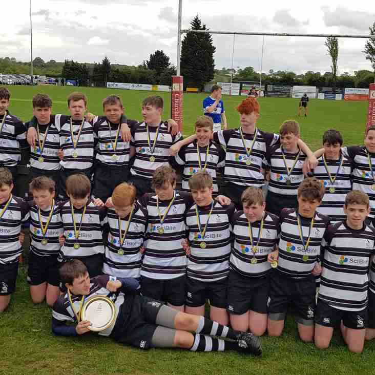 Well done U14s on winning Herts Final