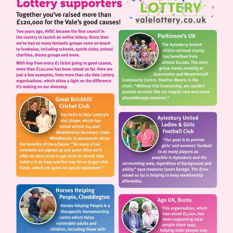 Vale Lottery