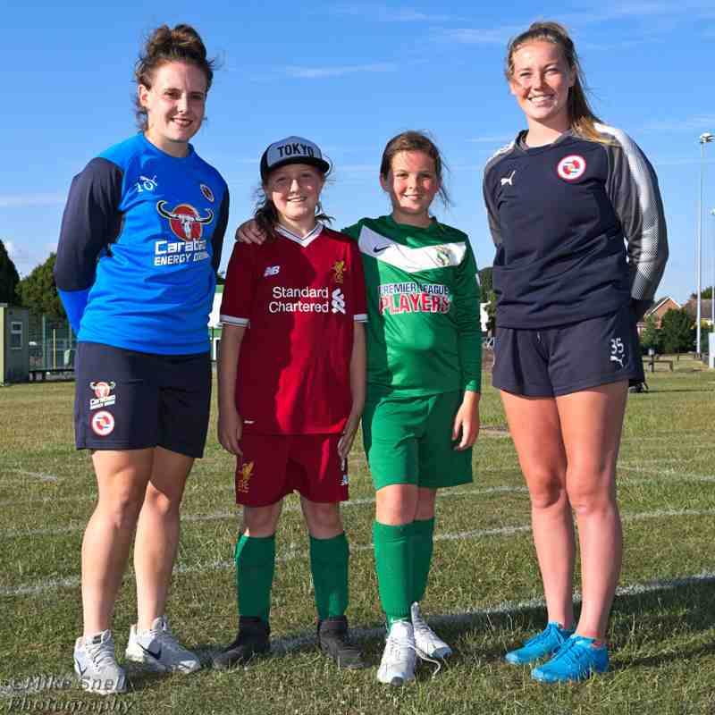 Reading Women Player Appearance - U10/U11s Training & Taster Session