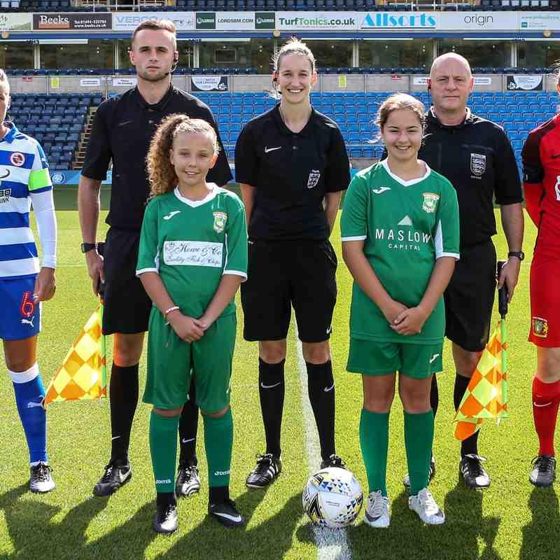 Reading Women v Yeovil Town Ladies - Sun 9th Sep 2018