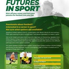 Female Futures in Sport