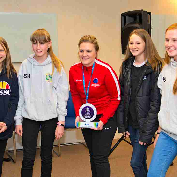 Future looks bright for female footballers