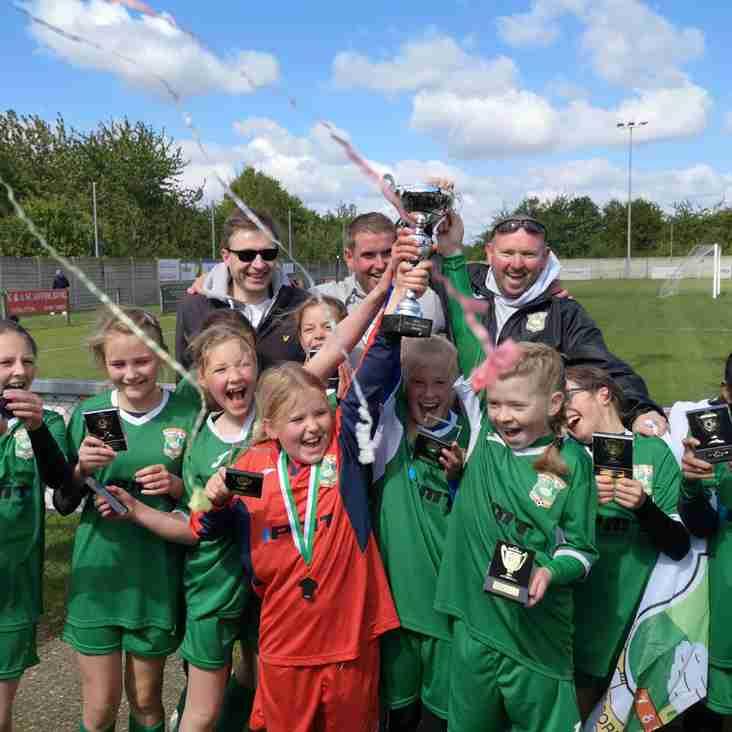 Ducks celebrate triple cup glory