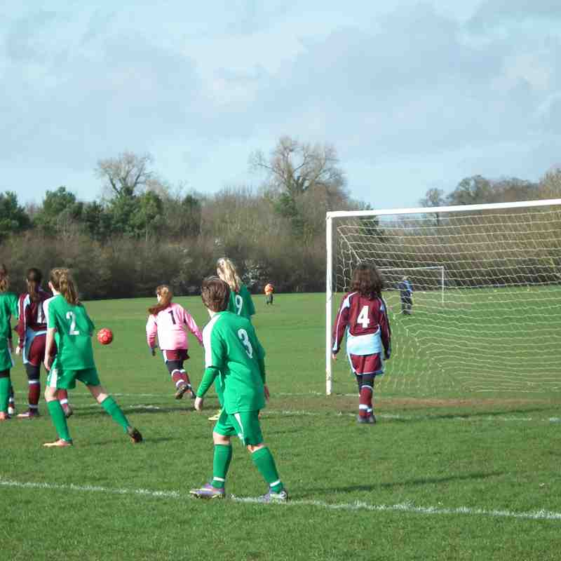 U14's vs Chesham United - Sat 4th March 2017 - Cup Match