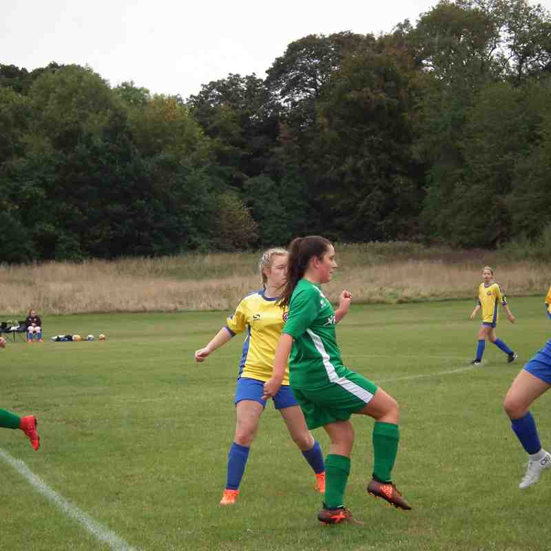 AULGFC U16's vs Kempston Rovers U16's Saturday 22nd September