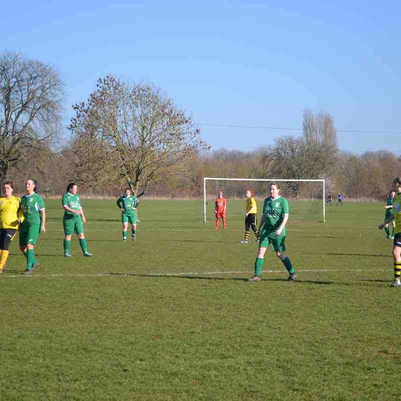 Aylesbury United Ladies vs Chinnor Ladies Sunday 24-2-19