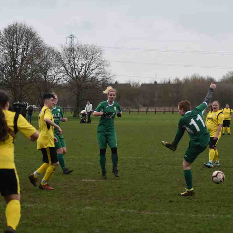 Aylesbury United Ladies vs North Leigh Sunday 2nd March 2019