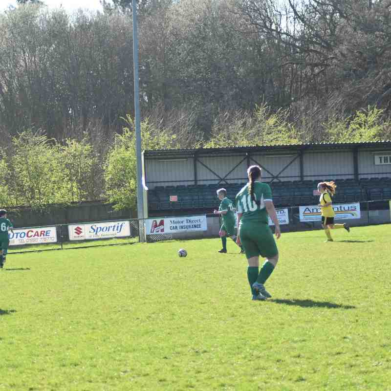 Aylesbury United Ladies vs North Leigh Sunday 24/3/19