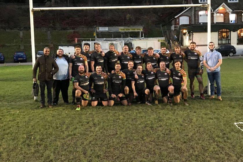 1st XV Team beat Sevenoaks III 40 - 0