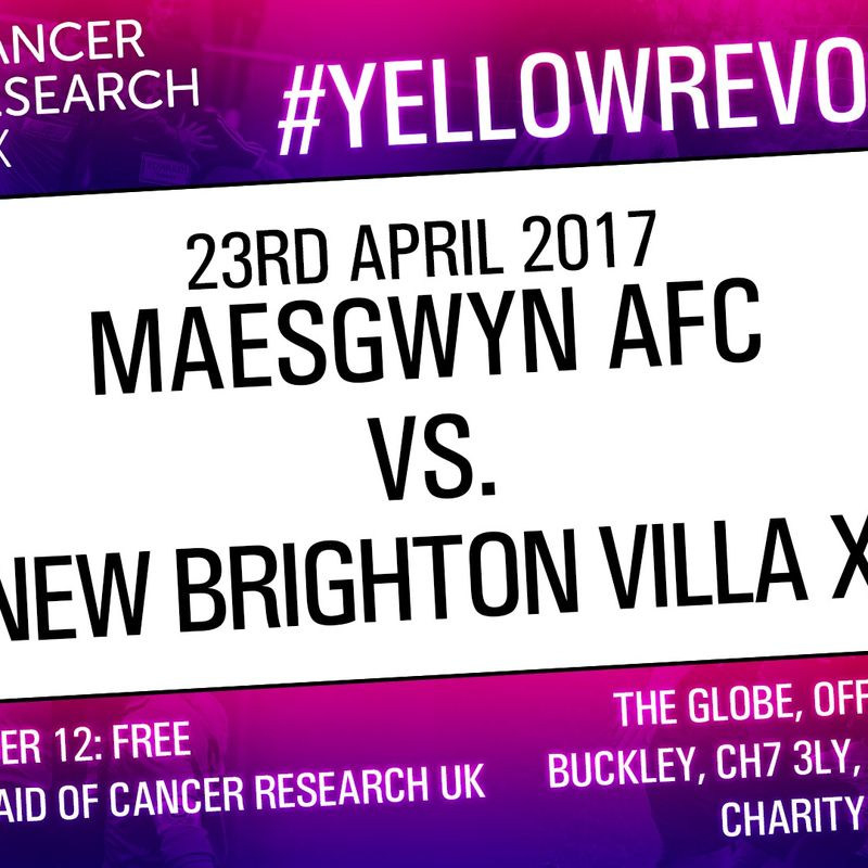 Charity Game in aid of Cancer Research UK