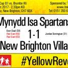 Mynydd Isa Spartans 1 - 1 NBV