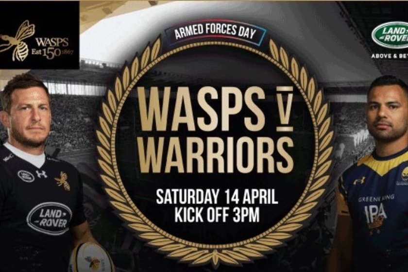 WASPS Club Takeover Day - Book your place with your team coach