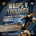 Sils takeover day to WASPS