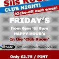 SilsRubgy - Club Night Friday's!