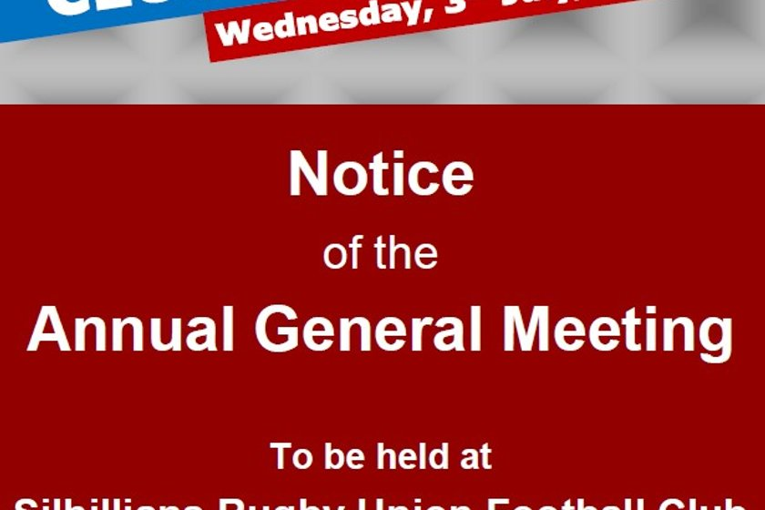 Notice of Sils Rugby AGM
