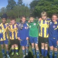 U14s at Burley Tournament 11 May 2013