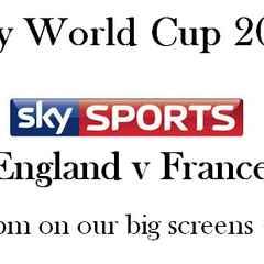 Englan v France RWC 2015 Warm-up