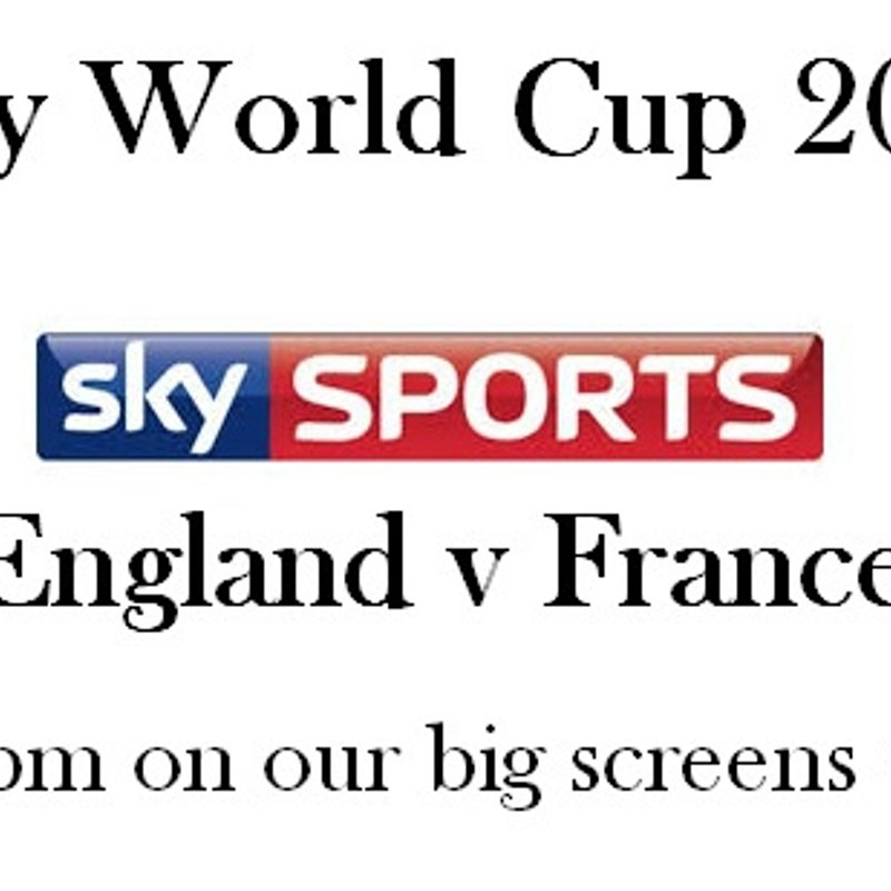 England v France RWC 2015 Warm-up