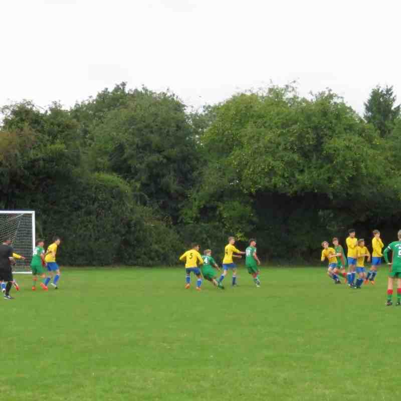Littleton Juniors v Ash Utd Youth U16's   17th Sep 2016