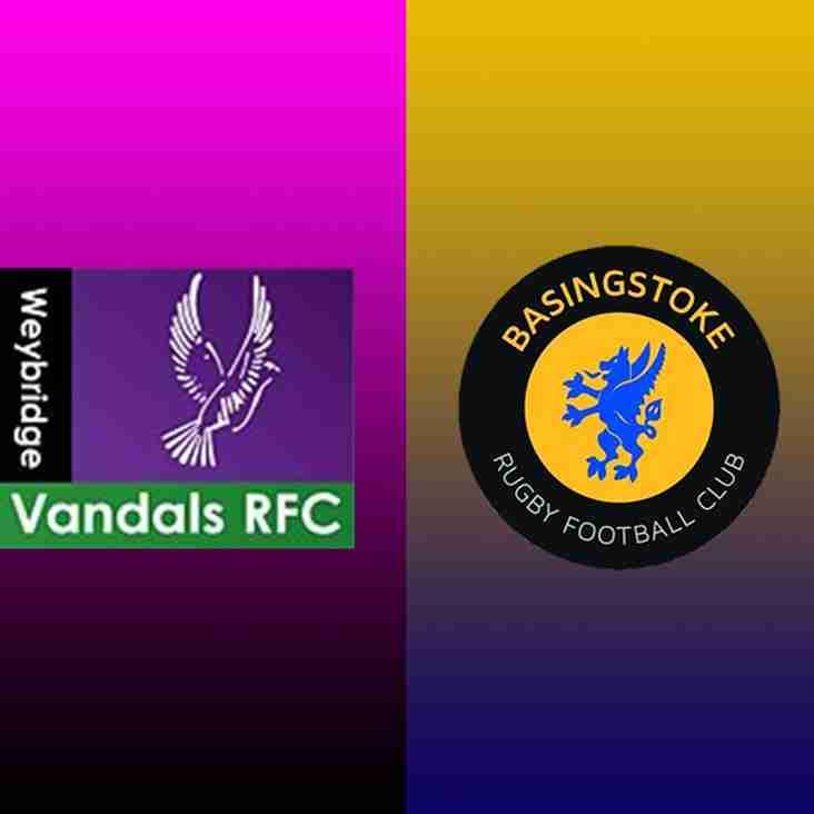 Weybridge Vandals v Basingstoke RFC- Match Preview