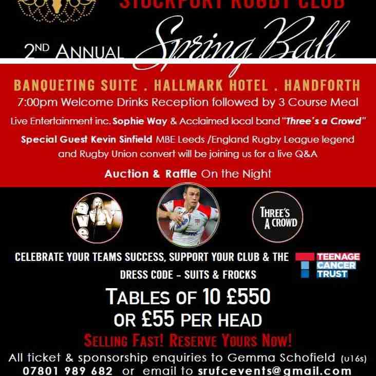 SRUFC Spring Ball 2017